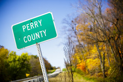 Fall on the Perry County Line in Illinois