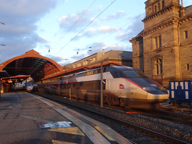 Alstom TGV Réseau n°501  -  Gare de Strasbourg