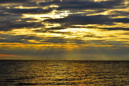 ocean sunrise nikon texas corpuschristi northbeach 2015 mostlycloudy d5300