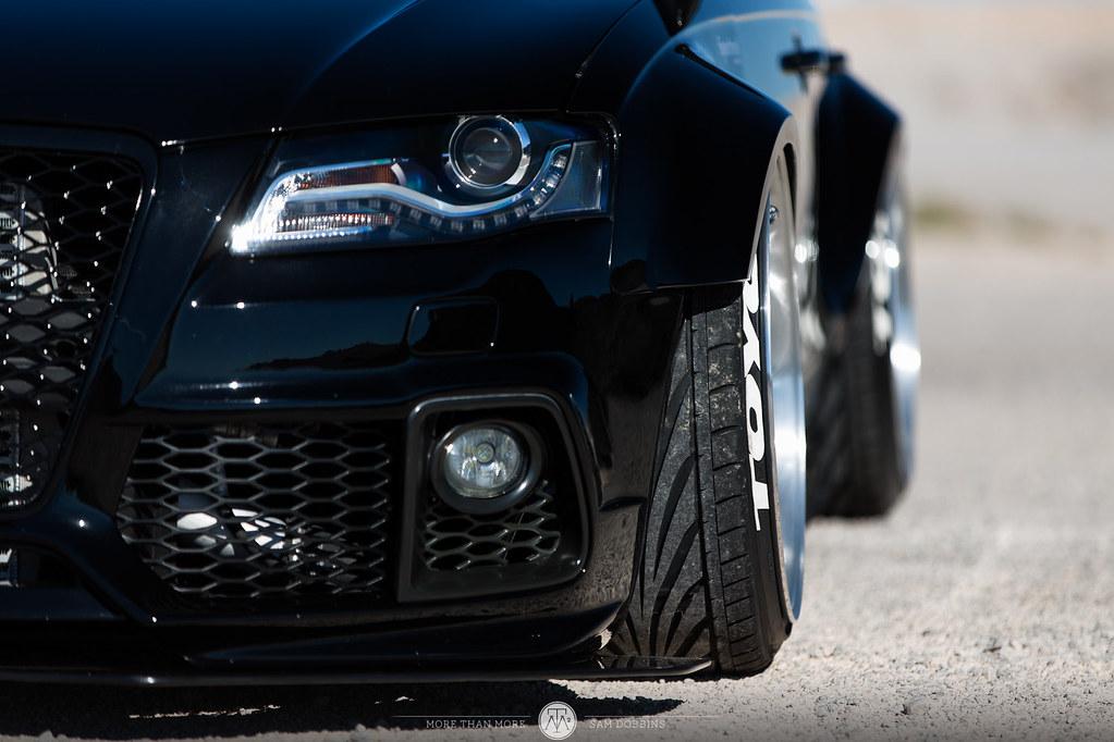 Rilber's Audi A4 Avant on AG F522 Wheels - More Than More - © Sam Dobbins 2015 - 1056