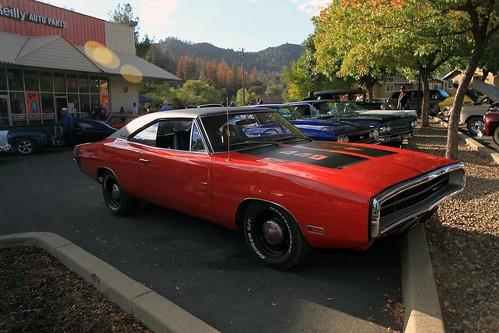 Ready for cruise night front 1   by Tolley's Charger