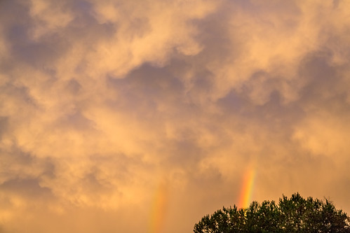 storm weather clouds georgia skyscape rainbow doublerainbow douglasville psunset
