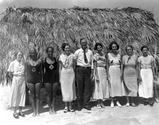 Leaders of FERA camp for unemployed women - Anastasia Island | by State Library and Archives of Florida