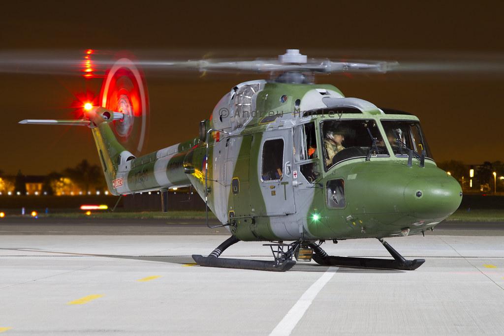 AAC Lynx AH.7 at Northolt Oct 2012.