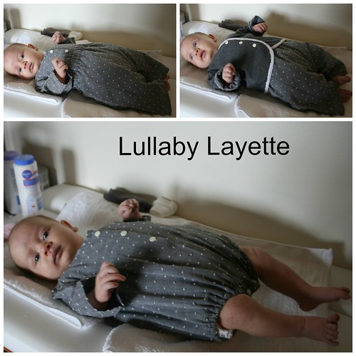 Lullaby over a cloth nappy/diaper