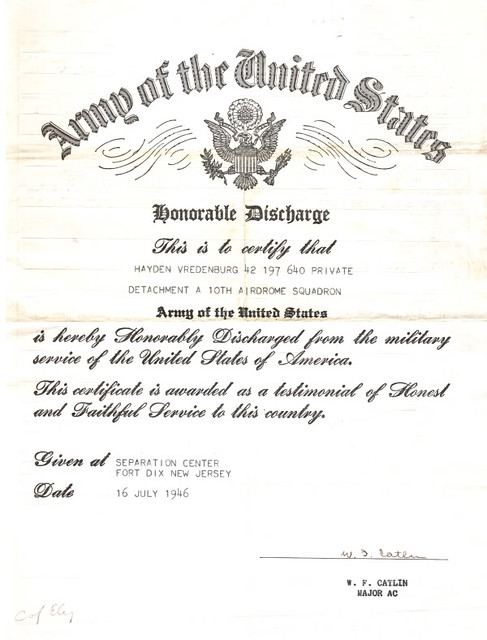 Military discharge papers online