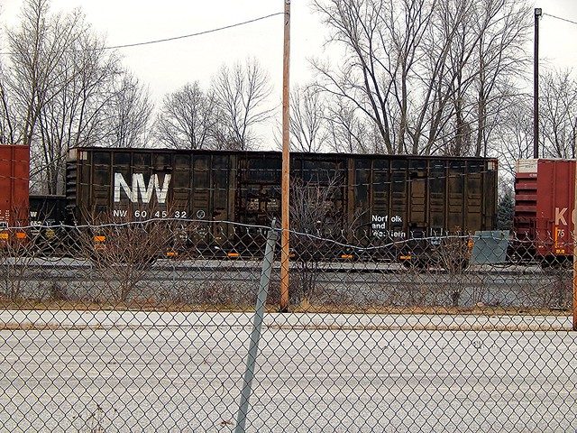NW boxcar at New Haven Indiana