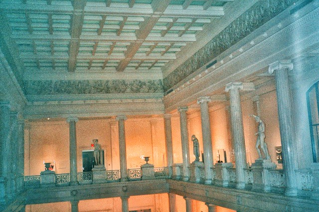 Pittsburgh Pa ~ Carnegie Museum of Natural History ~ Old 35mm Film
