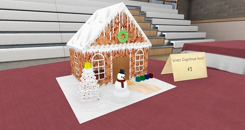 """Winter Gingerbread House"" @ Bay City Activity Center"