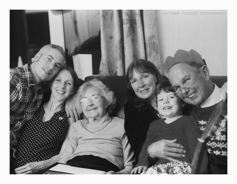 Large Format Family Portrait