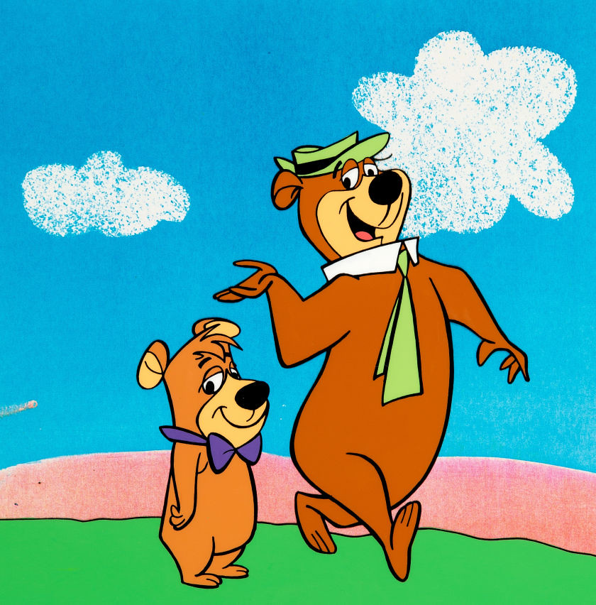 Hanna-Barbera Yogi Bear & Boo Boo cel | From Heritage Auctio