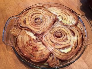 Cinnamon Bread Custard with Fresh Berries | by Neeta Lind