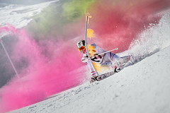 Marcel Hirscher performs during the project 'Marcel Hirscher Colours' at Reiteralm near Schladming, Austria on March 24th, 2015  // Philip Platzer/Red Bull Content Pool // P-20150402-00172 // Usage for editorial use only // Please go to www.redbullcontentpool.com for further information. //