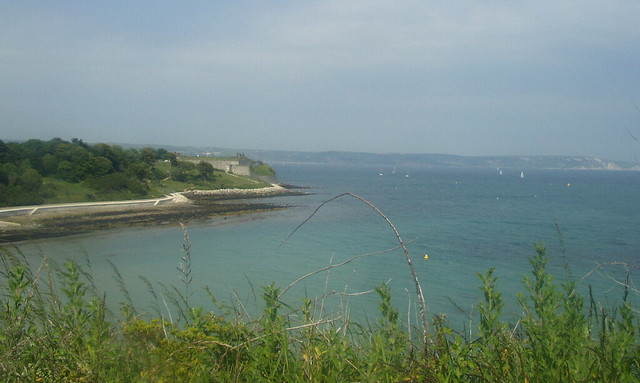 Nothe Point from Newtons Cove