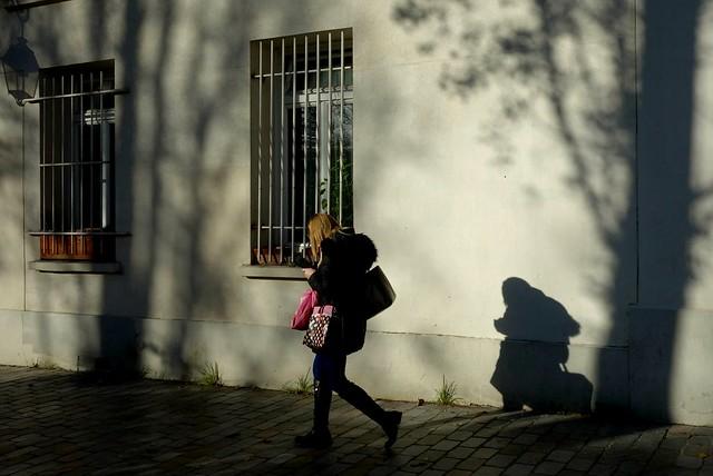 Shadow 345 - walking