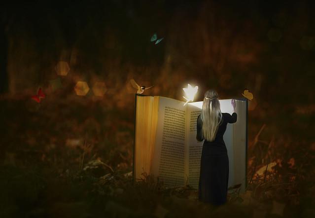 reading a Fairy Tale