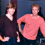Thu, 12/04/2014 - 2:30pm - Rik & Bruce Cockburn in session, circa November 11, 1983