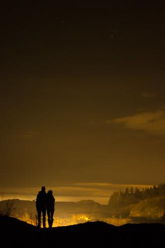 nightphotography portrait sky people silhouette night landscape star nightshot horizon beaverton nighttime editing quarry coupleshot nightportrait landsape rockquarry beavertonoregon