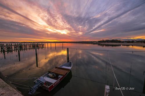 ocean sunset boat dock unitedstates massachusetts mattapoisett