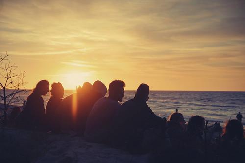 sunset sea beach festival strand meer sonnenuntergang sony poland polska baltic lukas polen alpha 77 ostsee a77 morze bałtyckie kozmus plötzlichammeer