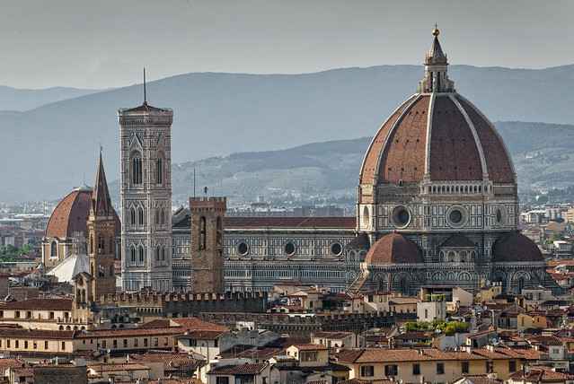 Italy - Florence - Cathedral from Piazzale Michelangelo 01_DSC8638