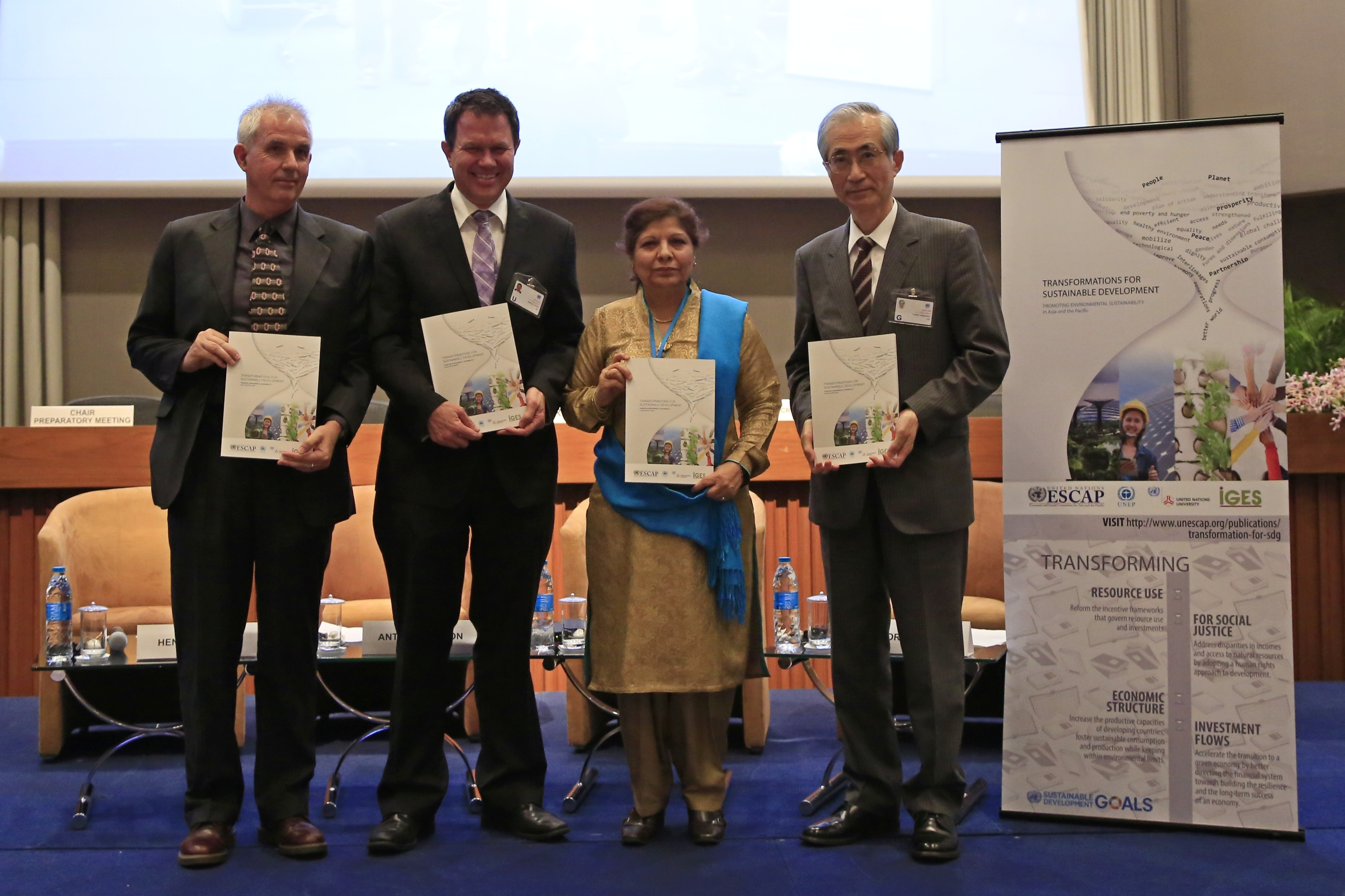 """Launch of the """"Transformations for Sustainable Development"""" Report"""