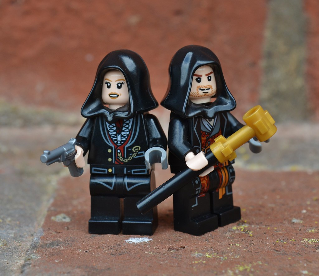 Lego Assassin S Creed Syndicate Jacob And Evie Frye Flickr