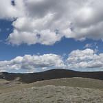 Looking towards East Flattop and Singleshot Mountain from Otokomi Mountain
