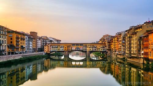 travel bridge sunset italy storm night canon italia nightshot tuscany arno toscane hdr highdynamicrange italie pontevecchio canoneos5dmarkiii cedricmayencebe