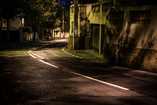 Neighbourhood at night [Explored] | by _Franck Michel_