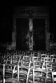 Empty Church, Saint Eustache, Paris