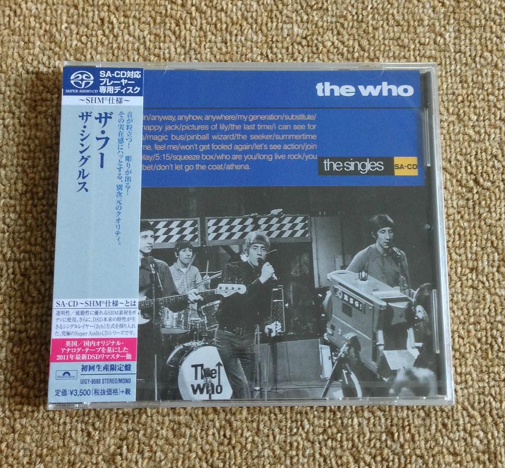The Who - The Singles (SHM-SACD reissue)   Polydor Ltd  (UK