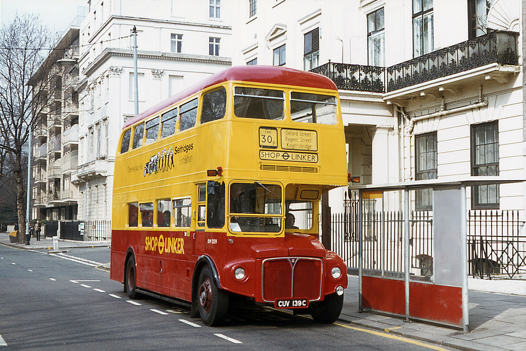 15828005496 c5651cd2e4 b - London's Shop Linker bus anniversary