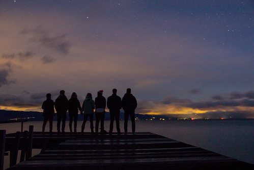 california sunset people silhouette night contrast stars unitedstates group laketahoe crew carnelianbay