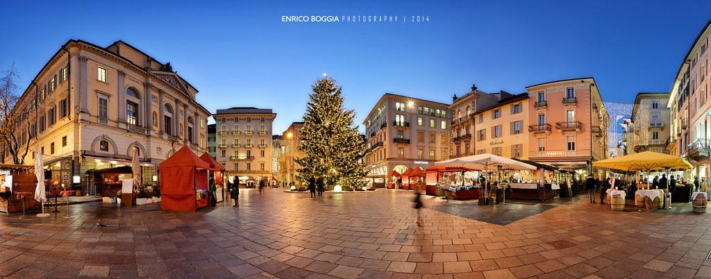 Decorazioni Natalizie Lugano.062 Lugano Natale In Piazza Riforma 2014 Explore Flickr