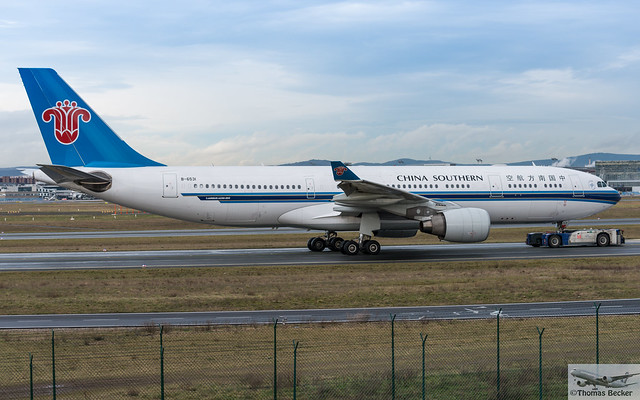 China Southern Airlines Airbus A330-223 B-6531 (872356)