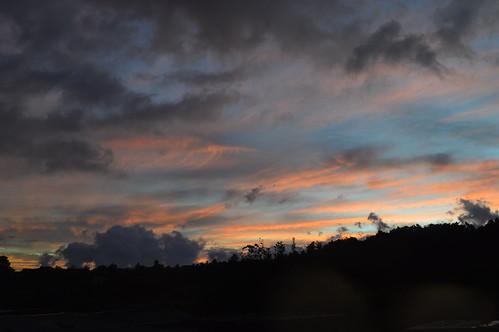 sunset atardecer boquete panama chiriqui