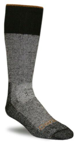 Carhartt Socks Boots A66 Unisex Heather Black Cold Weather Boot Sock-Medium - Grey