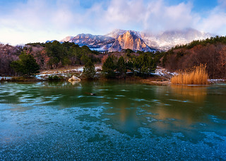Frozen lake | by _KARRR