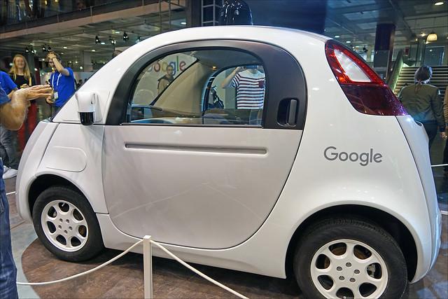 La voiture sans chauffeur de Google (Salon Viva Technology, Paris)
