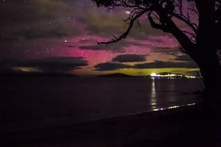 An Aurora Taken In Southern Tasmania | by jacquiepetrusma