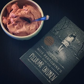 It's a good night for homemade ice cream and a new book! { #bookish #bookgeek #booknerd #bookworm #booklover #bookaholic #bookstagram #icecream #sorbet #reading } | by andthenshecameback