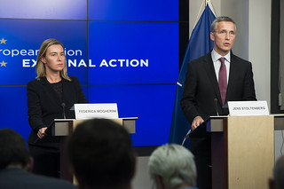NATO Secretary General meets with the European Union High Representative for Foreign Affairs | by NATO