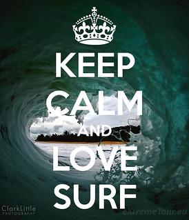 keep calm and love surf