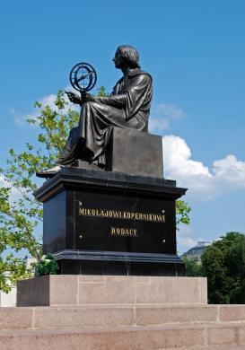 Monumento a Nicolas Copernico en Varsovia