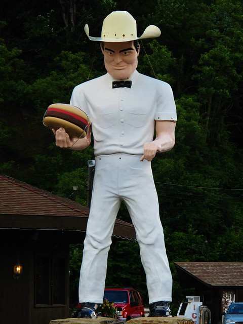 Poorboy Sam at the Cadet Restaurant near Kittanning PA