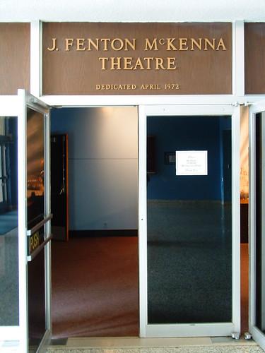 The J. Fenton McKenna Theatre
