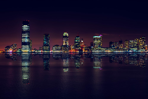 Jersey City Lights | by Garen M.