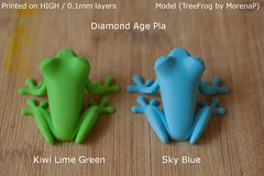 Filament colours for on diamondage and colorfabb that are avalible via my 3d hubs. www.3dhubs.com/toronto/hubs/kym