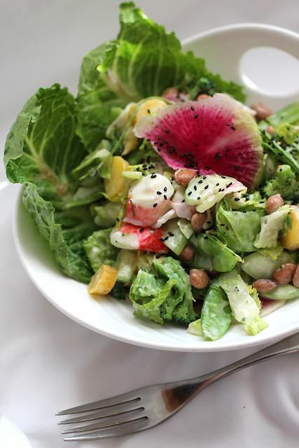 Wasabi Krab Salad with Misonnaise